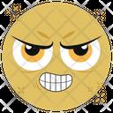 Grinning Emoticon Emoji Emoticon Icon