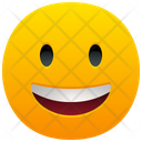 Grinning Face Emoji Emotion Icon