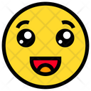 Grinning Happy Smile Icon
