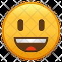 Grinning Face With Big Eyes Emoji Emoticon Icon