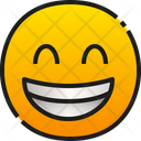 Grinning Face With Smiling Eyes Icon