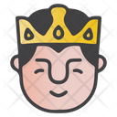 Grinning King Icon