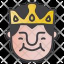 Grinning King Icon