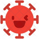 Grinning Left Eye Wink Icon