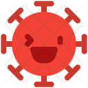 Grinning Right Eye Wink Icon