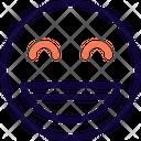 Grinning Smiling Eyes Icon