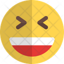 Grinning Squinting Icon