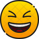 Grinning Squinting Face Icon