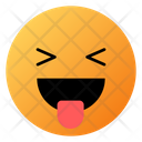 Grinning Squinting Face With Tongue Emoji Face Icon