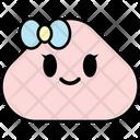 Grinning Woman Emoji Emoticon Icon