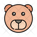 Grizzly Wild Bear Icon