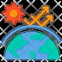 Grobal Warming Icon