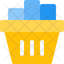 Groceries Basket Icon