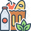 Groceries Food Supermarket Icon