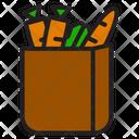 Groceries Groceries Bag Vegetable Icon