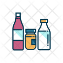 Groceries Bottle Icon