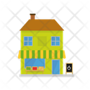 Grocery House Village Icon