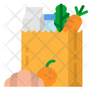 Grocery Shopping Bag Icon