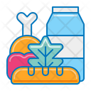 Grocery Vegetable Ingredient Icon
