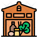 Grocery Store Shop Retail Food Product Market Icon