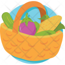 Grocery Vegetable Kitchen Icon