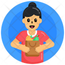 Vegetables Grocery Shopping Icon