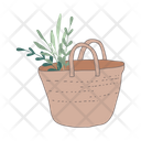 Grocery Bag Shopping Bag Tote Bag Icon
