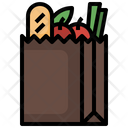 Grocery Bag Grocery Supermarket Icon