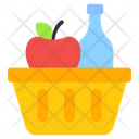 Grocery Basket Grocery Bucket Shopping Icon