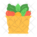 Bag With Vegetables Icon