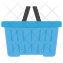 Grocery Bucket Shopping Basket Supermarket Basket Icon