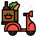 Grocery delivery Icon