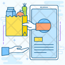 Shopping App Grocery App Grocery Delivery Icon
