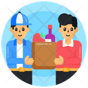 Food Delivery Grocery Delivery Grocery Order Icon