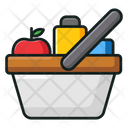Grocery Products Grocery Basket Icon