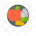 Grocery Products Food Items Fruit Icon