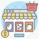 Food Discount Grocery Shopping Buy Grocery Icon