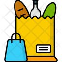 Grocery Shopping Food Grocery Icon