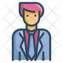 Groom Suit Cloths Icon