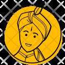 Groom Indian Wedding Icon