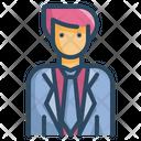 Groom Man Groom Suit Icon