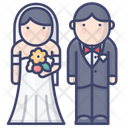 Groom And Bride Icon