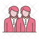 Groom And Groom Icon