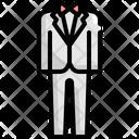 Groom Suit Wedding Icon