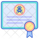 Groomer Certificate Icon
