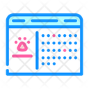 Grooming Date Visit Date Date Icon