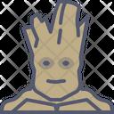 Groot Galaxy Guardian Movie Icon