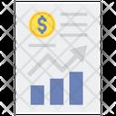 Gross Margin Profit Growth Icon