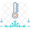 Ground Frost Winter Icon