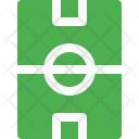 Ground Soccer Field Icon